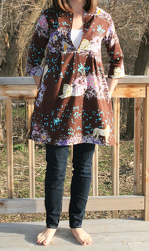 Schoolhouse Tunic | by Fresh Lemons : Faith