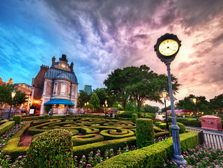 Beautiful Disney World at Sunset | by Stuck in Customs