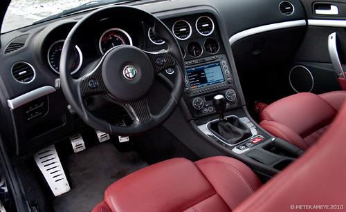 Alfa romeo brera ti interior i prefer the brushed metal th flickr - Alfa romeo brera interior ...