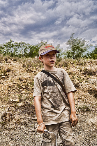 Jack at Mineral Wells Site | by PapaMike1946