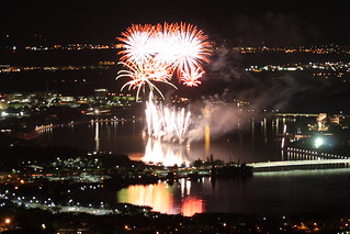 Fireworks from the telstra tower | by Dr Stephen Dann