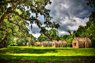 Slave Street at Boone Hall | by Kay Gaensler