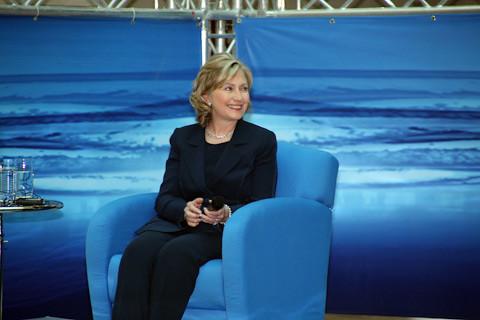 Secretary Clinton Travels to Qatar and Saudi Arabia