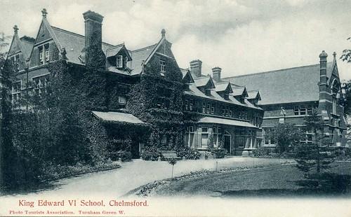 King edward vi school chelmsford postcard c 1904 by sludgegulper