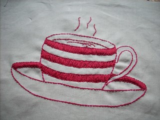 red work cup of tea | by :: Nova