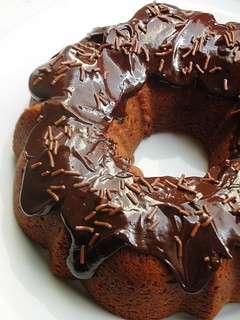 milk chocolate bundt cake | by awhiskandaspoon
