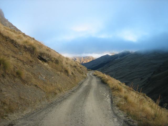 Road to Skippers Canyon