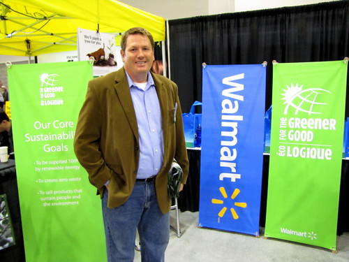 Vancouver Convention Centre EPIC Expo,  Andrew Telfer at Walmart talks sustainability that the giant consumer good seller is doing | by RayVanEng