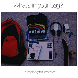 What's in your bag? | by Emm Enn