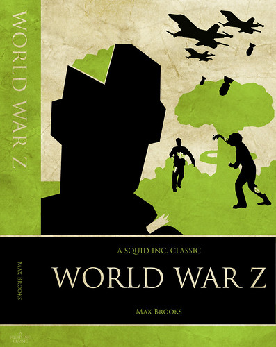 WORLD WAR Z: front cover + spine | by Iain Burke