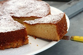 almond cake | by David Lebovitz