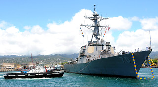 USS Hopper at Joint Base Pearl Harbor-Hickam | by America's Navy