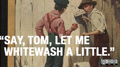 Tom Sawyer, whitewashing fences, and building communities online | by opensourceway