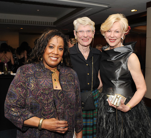 Melodie Morgan-Minott, MD, Marilyn MacLeod and Viia Beechler | by Opera Cleveland