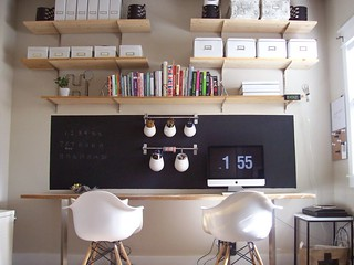 office with chalkboard | by AMM blog