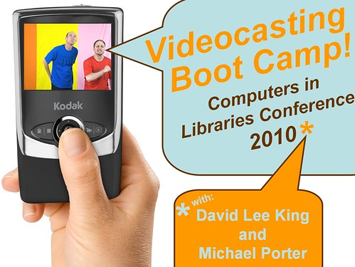 Intro Slide: Videocasting Preconference | by libraryman