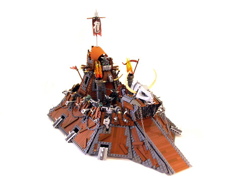 Mechanized Orc Castle 01 | by Legohaulic
