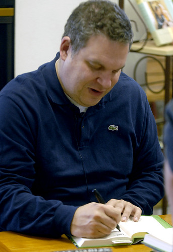 Jeff Garlin signs his new book | by tcfilmfest