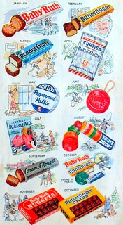 1940s CURTISS CANDY Vintage Illustration Advertisement | by Christian Montone