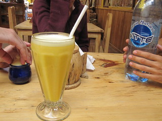 Orange and Peach Juice | by veganbackpacker