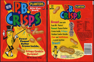 Planters - P.B. Crisps - NEW - snack package bag - 1992 | by JasonLiebig