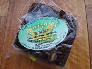 Carob and Nut Brownie | by veganbackpacker