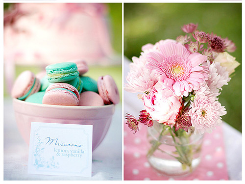 Macarons and flowers | by Call me cupcake