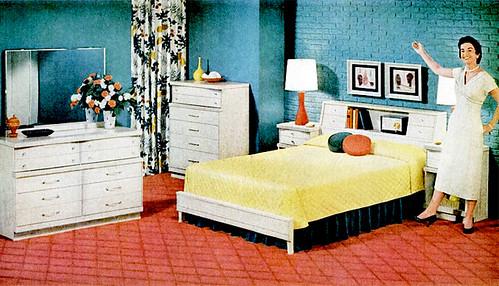 Bedroom 1956 Flickr Photo Sharing