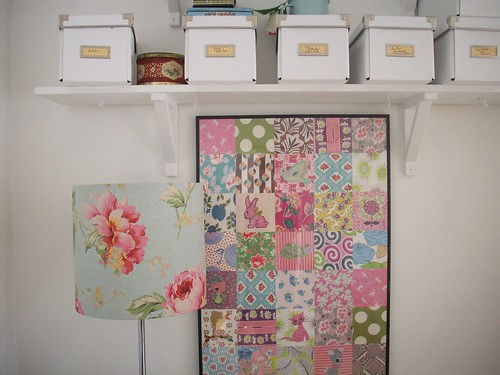 Vintage lampshades and Patchwork | by Teawagon