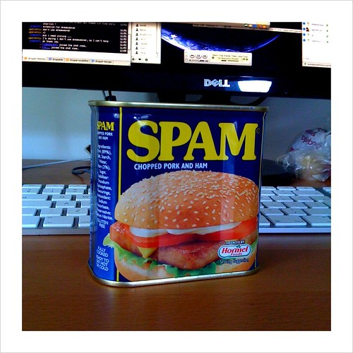 Spam getting in the way | by garrettc