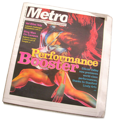Edition of the Metro which published one of my photos | by Si1very