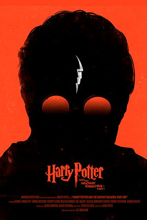 Harry Potter and the Deathly Hallows - Part 1 | by Olly Moss