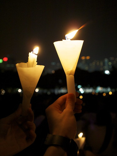 June 4 Candlelight Vigil 2010 | by lok cheung