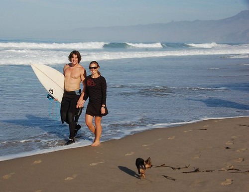 TCB's Chris and Kimmy surf before the snow hits - 3 | by ClifBar&Co