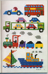 ondori cross stitch transport | by Sandra Eterovic