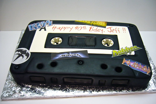 80s mix tape cake | by amber.mckenney