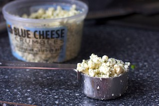 crumbled blue cheese | by smitten kitchen