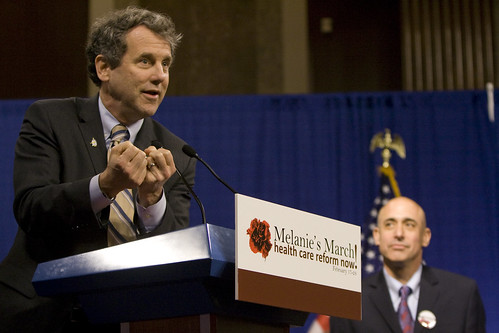 Senator Sherrod Brown at Melanie's March event | by SEIU International