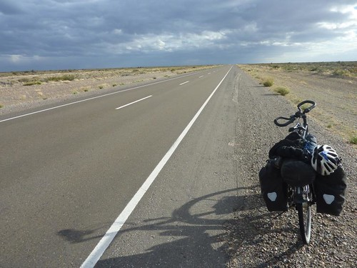 The flatlands of Patagonia | by cyclingtheamericas