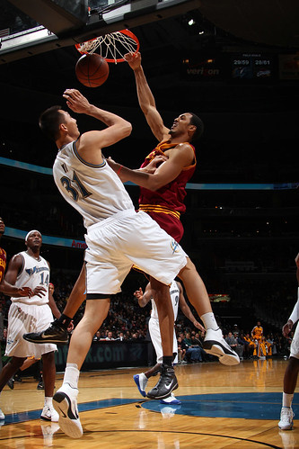Hollins Dunks Over Yi | by Cavs History