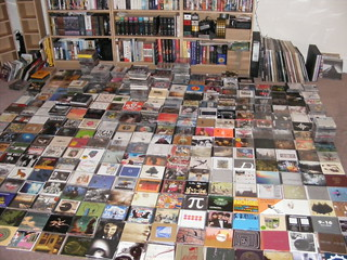 Carpet of CDs | by nothingatall