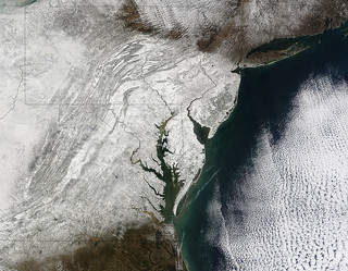 snowmaggedon aftermath, as seen from space | by woodleywonderworks