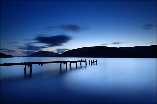 Fading into Blue | by angus clyne
