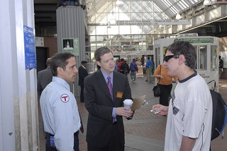 MBTA GM Rich Davey, Forest Hills Station, May 6, 2010 | by MassDOT