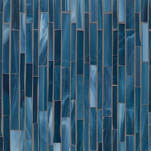 Chelsea Art Glass: Winter Sea Rhythm Field | by Walker Zanger