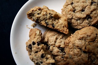 crispy oatmeal chocolate chip cookies | by Kim | Affairs of Living