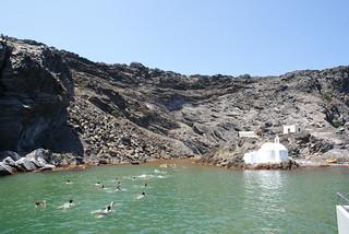 Palea Kameni thermal springs
