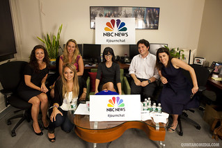 #JournChat at NBC News August 10, 2010 | by Anthony Quintano