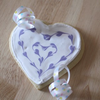 double heart cookies | by Madison Bistro