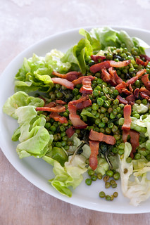 pea & bacon salad | by jules:stonesoup
